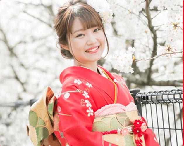 神奈川の成人式の振袖写真