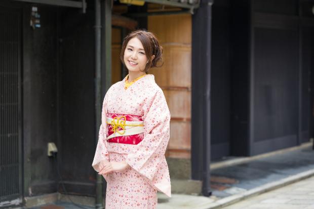 京都の成人式の振袖写真