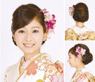 ガーリー系髪飾り